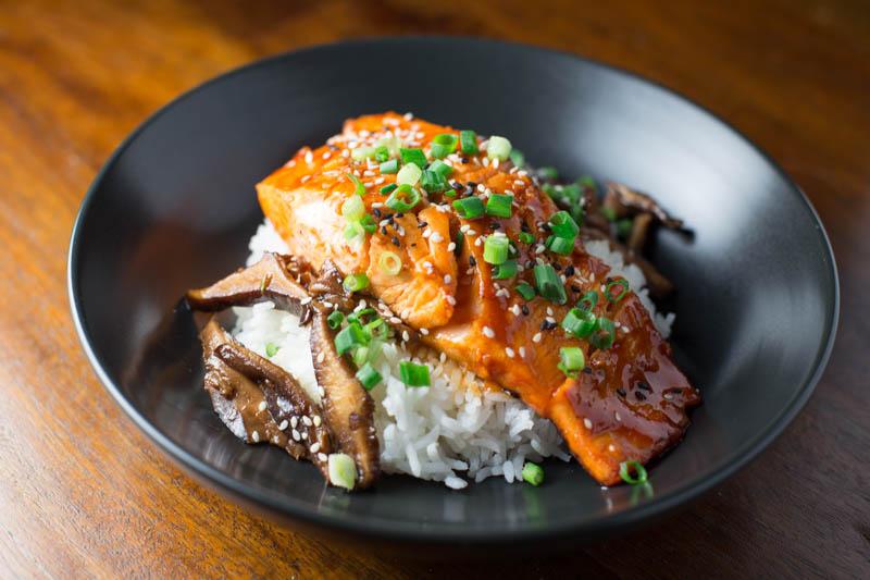 Spicy Korean Salmon