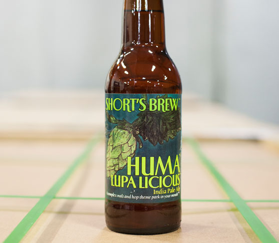 Huma Lupa Licious by Short's Brewing