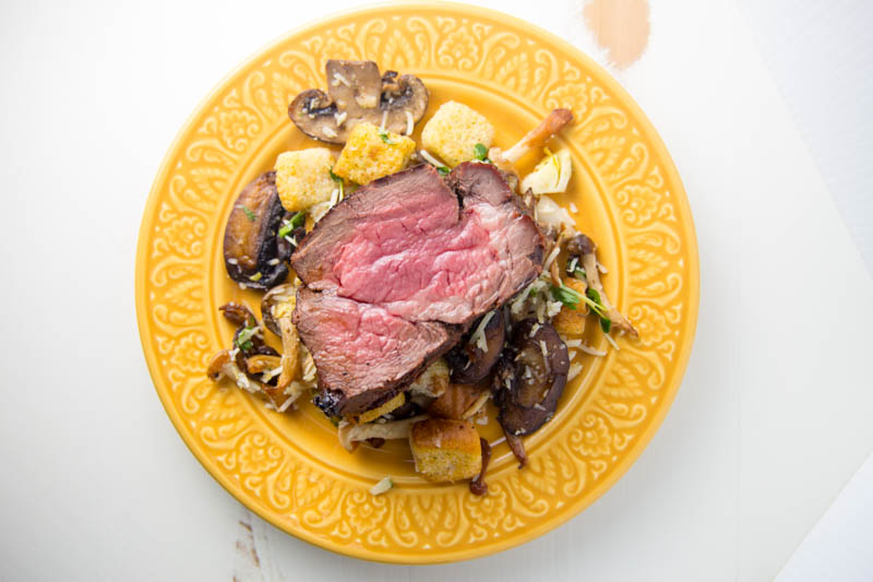 Red Wine Miso Marinated Beef Tenderloin