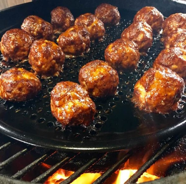 how to make spicy meatballs